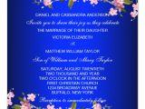Wedding Invitation Template Japanese Royal Blue Japanese Cherry Blossoms Wedding Invitation