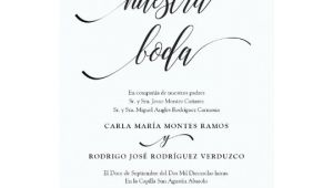 Wedding Invitation Template Spanish Nuestra Boda Editable Spanish Wedding Invitation Zazzle Com
