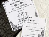 Wedding Invitation Template Square Vintage Iron Lace Square Invitation Template Download
