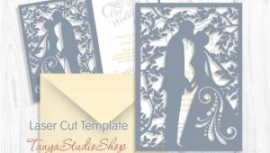 Wedding Invitation Template Svg Wedding Invitation Svg Dxf Ai Crd Eps Studio3 Vintage