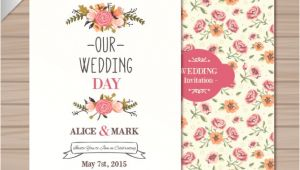 Wedding Invitation Template Vector Free Download Wedding Invitation Template Vector Free Download