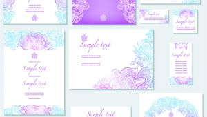 Wedding Invitation Template Vector Graphic Template Of Wedding Invitation Vector Free Vectors