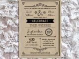 Wedding Invitation Template Vintage Vintage Rustic Diy Wedding Invitation Template