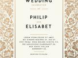 Wedding Invitation Template Vintage Vintage Wedding Invitation Template Royalty Free Vector