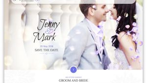 Wedding Invitation Template Website 16 Beautiful HTML Wedding Website Templates 2019 Colorlib