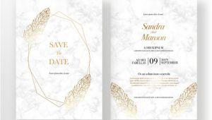 Wedding Invitation Templates Golden Golden Texture Wedding Invitation Template for Free