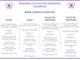 Wedding Invitation Wording Bride S Parents Hosting Wedding Invitation Wording Personalised Cards