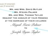 Wedding Invitation Wording Divorced Parents Of Bride Bliss Folio Blogging About Stationery Page 5
