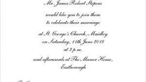 Wedding Invitation Wording Templates Informal Wedding Invitations Wedding Invitation Templates