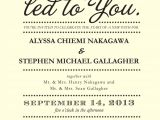 Wedding Invitation Wordking 4 Words that Could Simplify Your Wedding Invitations