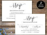 Wedding Invitations and Response Cards All In One Invitations Endearing Rsvp Wedding Cards Inspirations