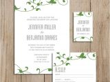 Wedding Invitations and Rsvp Packages Custom Wedding Invitation Package Printable Diy Rsvp Card