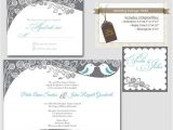 Wedding Invitations and Rsvp Packages Items Similar to Digital Wedding Invitation Package Love