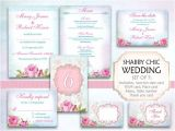 Wedding Invitations and Rsvp Packages Items Similar to Wedding Package Kit Invitation Menu Rsvp
