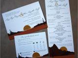Wedding Invitations Az Arizona Desert themed Wedding Stationery Emdotzee Designs