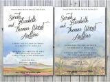 Wedding Invitations Az Arizona Wedding Invites Desert Wedding by
