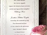 Wedding Invitations Catholic Wording Samples Catholic Wedding Invitation Wording Roman Portrait Simpl