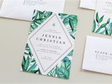 Wedding Invitations Charlotte Nc Botanical Wedding Invitations Tied Two