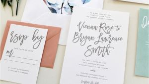 Wedding Invitations Charlotte Nc Custom Wedding Invitations Charlotte Nc Calligraphy