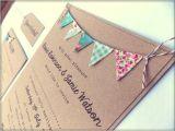 Wedding Invitations Etsy Uk Rustic Wedding Invitation Unique Rustic Kraft Card with