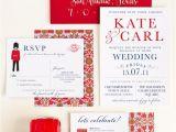Wedding Invitations Etsy Uk Wedding Invitation London Calling Uk by Seahorsebendpress