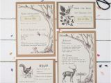 Wedding Invitations Etsy Uk Woodland Wedding Invites Wedding Invite Samples Rustic