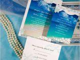 Wedding Invitations for Under $1 Modern Seaside Summer Beach Wedding Invitations Ewi038 as