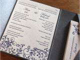 Wedding Invitations In Hebrew and English Letterpress Wedding Invitation Blog Letter Impressed by