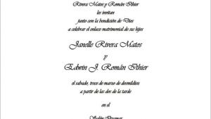 Wedding Invitations In Spanish Text Spanish Text Layout 12 Jpg 708 566 Invitations