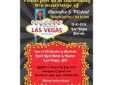 Wedding Invitations Las Vegas Nv Las Vegas Post Wedding Reception Invitations Zazzle