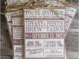 Wedding Invitations On A Budget Ideas Rustic Wedding Invitations This Could Be A Great Diy
