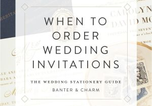 Wedding Invitations Online ordering when to order Wedding Invitations the Wedding Stationery
