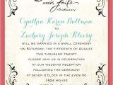 Wedding Invitations Reception to Follow Wedding Invitation Wording Cocktail Hour and Reception to