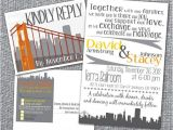 Wedding Invitations Sf Printable Wedding Invitation and Rsvp Postcard San