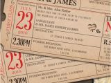 Wedding Invitations that Look Like Tickets 16 Unique Wedding Invitation Ideas Good Housekeeping