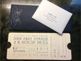 Wedding Invitations that Look Like Tickets Wedding Invitation Looks Like An Old Train Ticket to