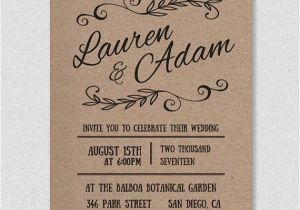 Wedding Invitations to Print at Home for Free Diy Wedding Invitations Templates and Traditional Wedding