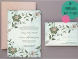 Wedding Invitations to Print at Home for Free Wedding Diy Free Printable Invitations Rsvp Bespoke