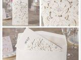 Wedding Invitations wholesale Suppliers Laser Cut Wedding Invitations Elegant 50pcs Lot White