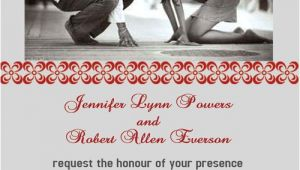 Wedding Invitations with Couples Picture Be Born Of A Couple Photo Wedding Invitations Iwp015