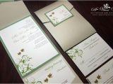 Wedding Invitations with Doves Pocket Fold Invitations Page 4 A Vibrant Wedding