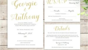 Wedding Invitations with Guest Names Printed Wedding Invitation Set Printable Template Be Mine with or