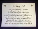 Wedding Invitations with Money Request Personalised Wishing Well Money Request Poem Gift Cards