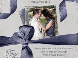 Wedding Invitations with Pictures Of Couple Dramatic Photo Wedding Invitation Happy Couple Text