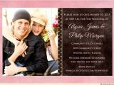 Wedding Invitations with Pictures Of Couple Sporty Wedding Invitation Sweet Casual Couple Photo Style