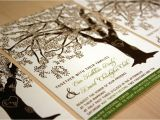 Wedding Invitations with Trees Grandfather Oak Tree Wedding Invitations Sample Customized