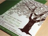 Wedding Invitations with Trees Sample Grandfather Oak Tree Wedding Invitations