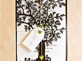 Wedding Invitations with Trees Wedding Invitations with St Gertrude Tree Laser Cut Design
