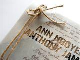 Wedding Invitations with Vellum Overlay 20 Rustic Wedding Invitations Ideas Rustic Wedding