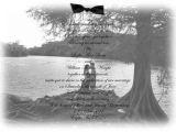 Wedding Invitations with Vellum Overlay Wedding Invitation Photo with Vellum Overlay by